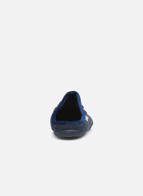 Chaussons La maison de l'espadrille Monsoeur Bleu vue droite
