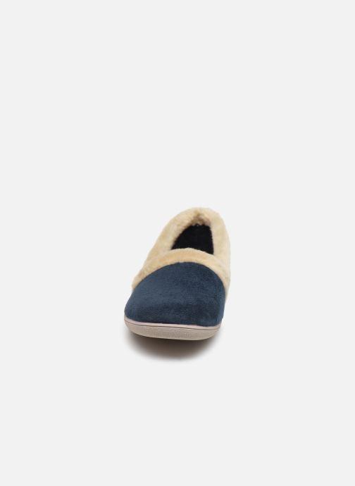 Chaussons La maison de l'espadrille Lola Bleu vue portées chaussures