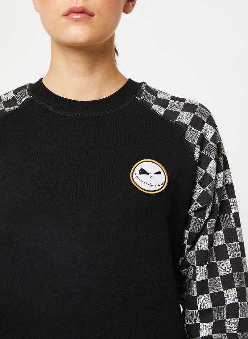Vêtements Vans Jacks Crew Noir vue face