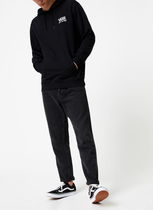 Vêtements Vans Sketchy Jack PO Hoodie Noir vue bas / vue portée sac