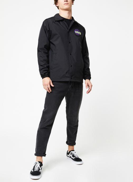 Vêtements Vans Torrey Noir vue bas / vue portée sac