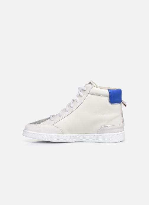 Sneakers Victoria Tenis Piel x Valentine Bianco immagine frontale