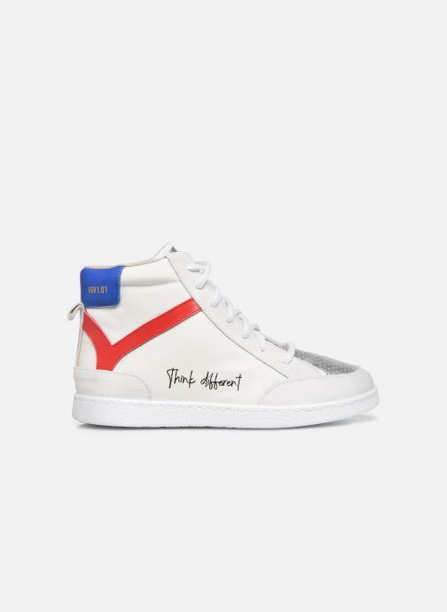Sneaker Victoria Tenis Piel x Valentine weiß ansicht von hinten
