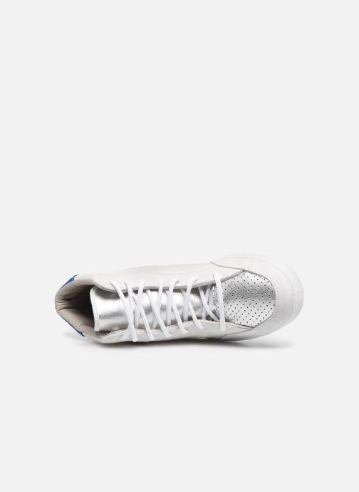 Sneakers Victoria Tenis Piel x Valentine Bianco immagine sinistra