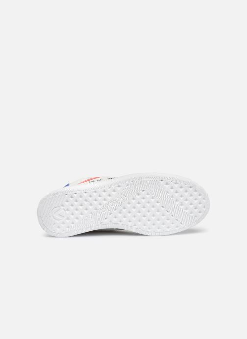 Sneaker Victoria Tenis Piel x Valentine weiß ansicht von oben