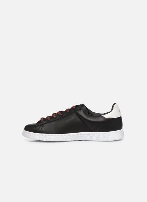 Sneaker Victoria Tenis Piel x Valentine schwarz ansicht von vorne