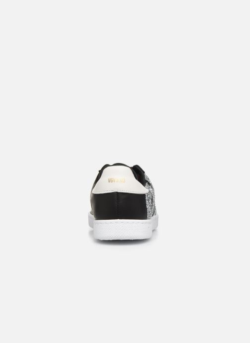 Sneaker Victoria Tenis Piel x Valentine schwarz ansicht von rechts