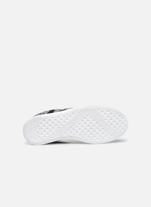 Sneaker Victoria Tenis Piel x Valentine schwarz ansicht von oben