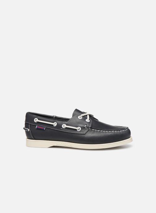 Zapatos con cordones Sebago Docksides Portland W C Azul vistra trasera