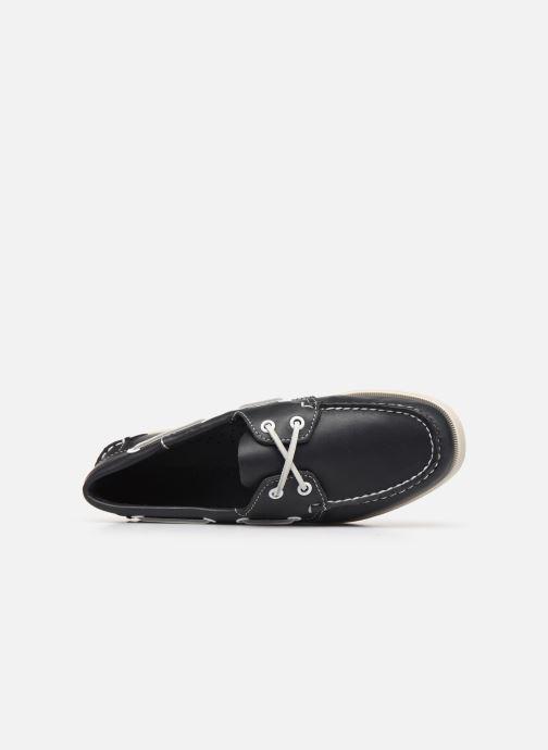 Zapatos con cordones Sebago Docksides Portland W C Azul vista lateral izquierda