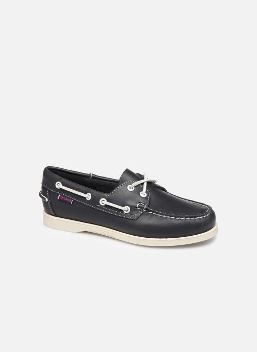 Zapatos con cordones Sebago Docksides Portland W C Azul vista de detalle / par