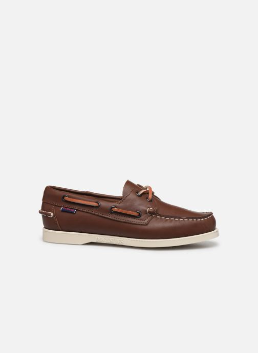 Lace-up shoes Sebago Docksides Portland W C Brown back view