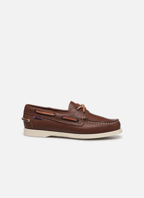 Chaussures à lacets Sebago Docksides Portland W C Marron vue derrière