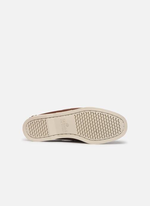 Chaussures à lacets Sebago Docksides Portland W C Marron vue haut