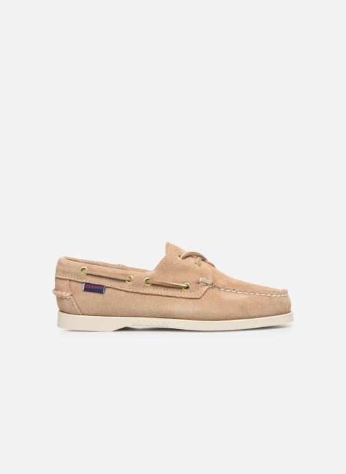 Chaussures à lacets Sebago Docksides Portland Suede W C Beige vue derrière