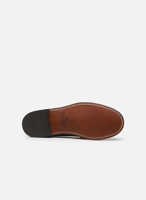 Loafers Sebago Classic Dan W C Burgundy view from above