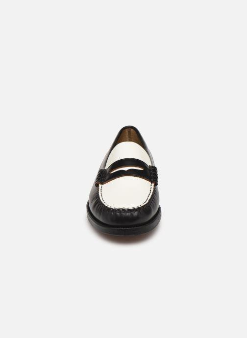 Mocasines Sebago Classic Dan W C Negro vista del modelo