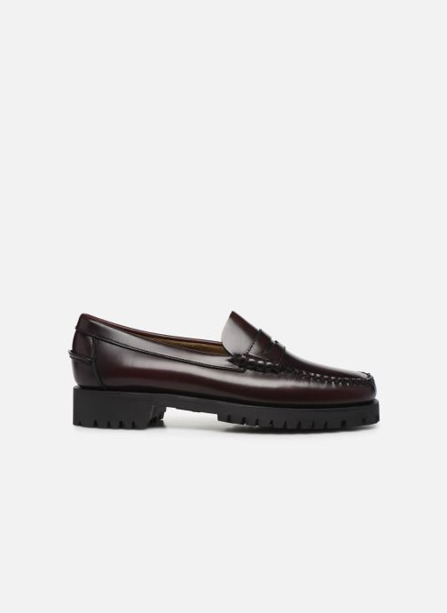 Loafers Sebago Dan Lug W C Burgundy back view