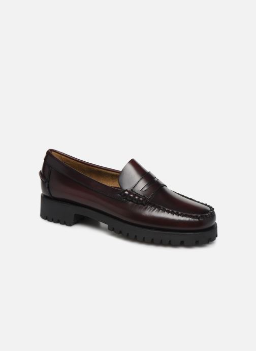 Loafers Sebago Dan Lug W C Burgundy detailed view/ Pair view