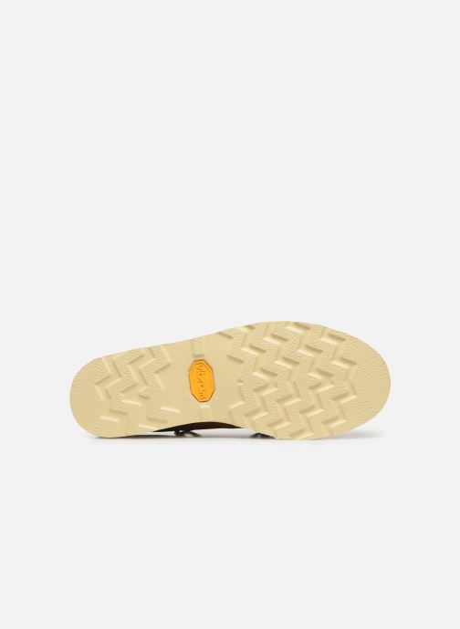 Zapatos con cordones Sebago Keuka C Beige vista de arriba