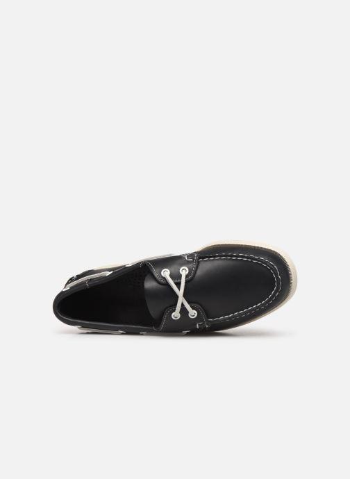 Chaussures à lacets Sebago Docksides Portland Crazy H C Bleu vue gauche