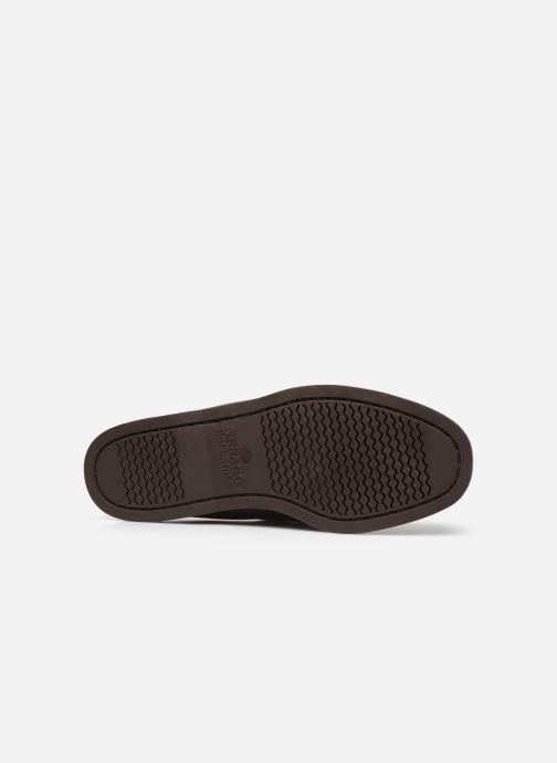 Chaussures à lacets Sebago Docksides Portland Waxed C Marron vue haut