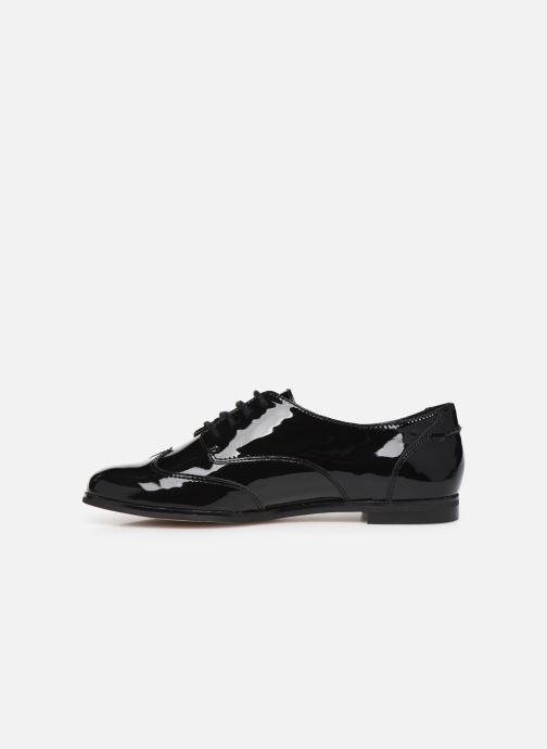Lace-up shoes Clarks Andora Trick Black front view