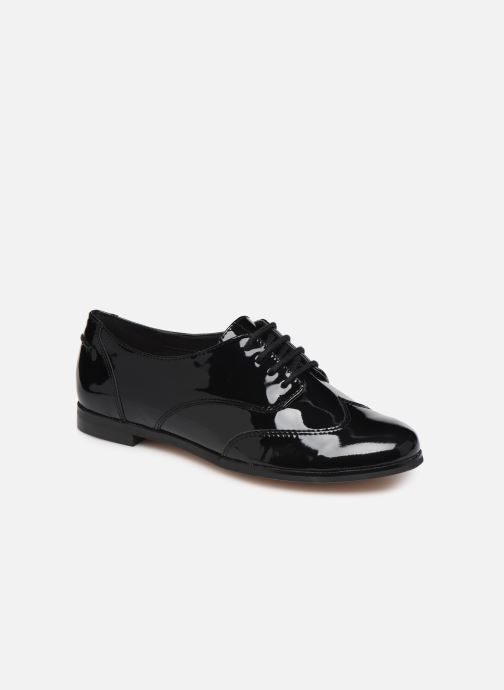 Lace-up shoes Clarks Andora Trick Black detailed view/ Pair view
