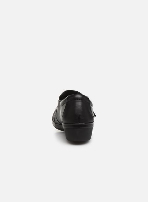 Loafers Clarks Everlay Luna Black view from the right
