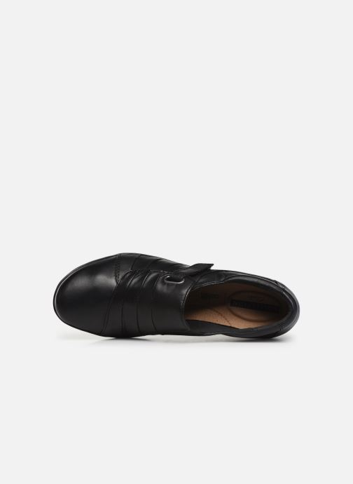 Loafers Clarks Everlay Luna Black view from the left
