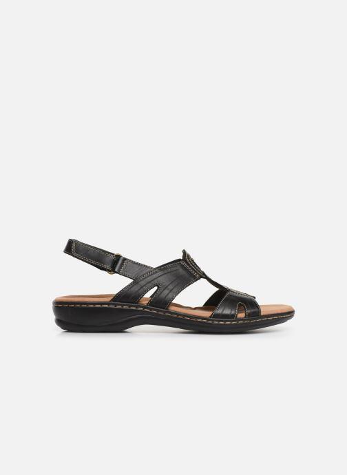 Sandali e scarpe aperte Clarks Leisa Vine Nero immagine posteriore