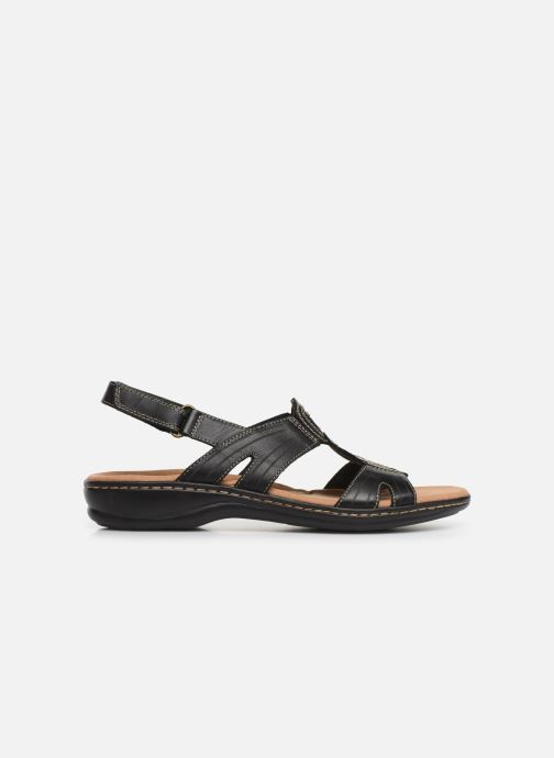 Sandales et nu-pieds Clarks Leisa Vine Noir vue derrière