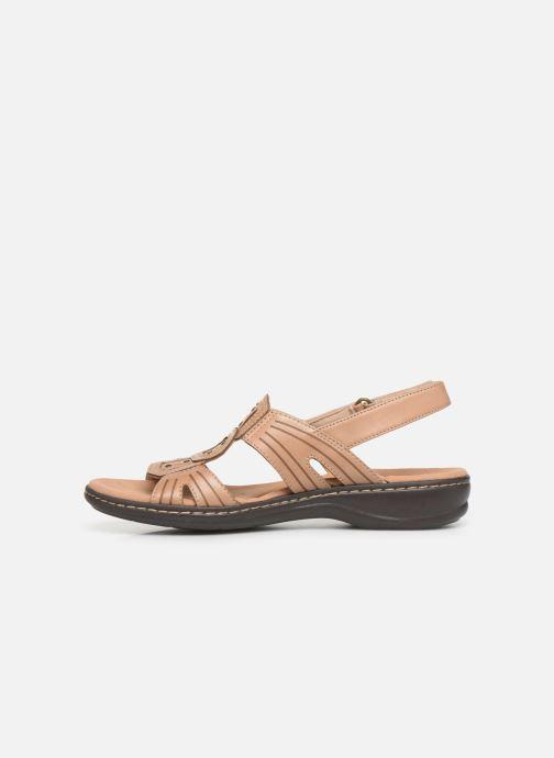 Sandali e scarpe aperte Clarks Leisa Vine Beige immagine frontale