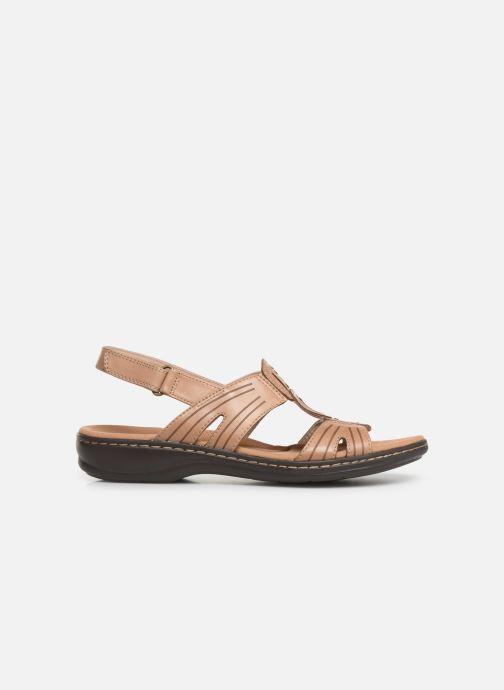 Sandali e scarpe aperte Clarks Leisa Vine Beige immagine posteriore
