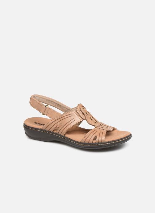 Sandaler Clarks Leisa Vine Beige detaljeret billede af skoene