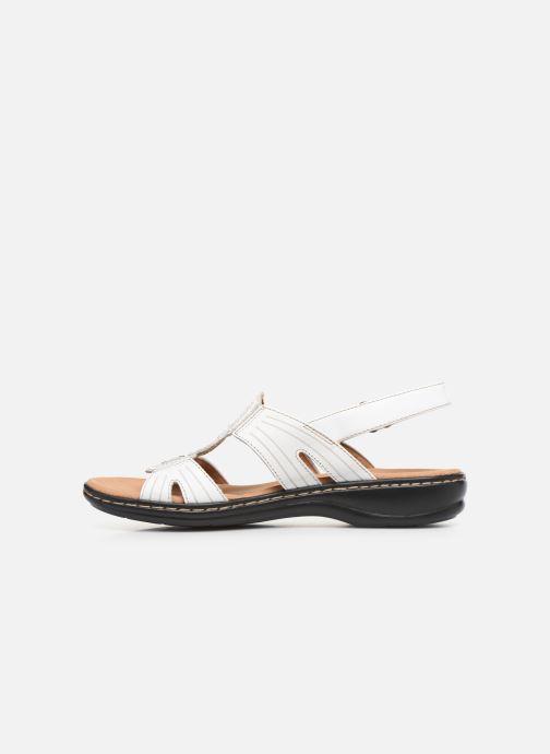 Sandales et nu-pieds Clarks Leisa Vine Blanc vue face