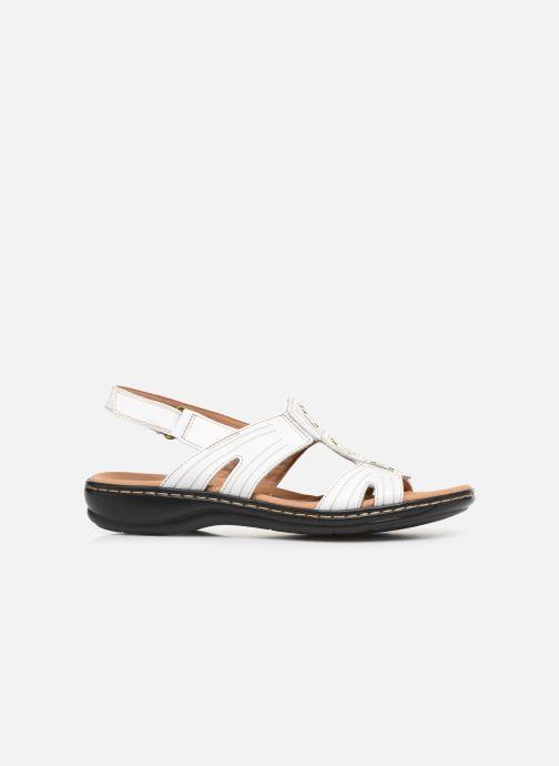 Sandales et nu-pieds Clarks Leisa Vine Blanc vue derrière