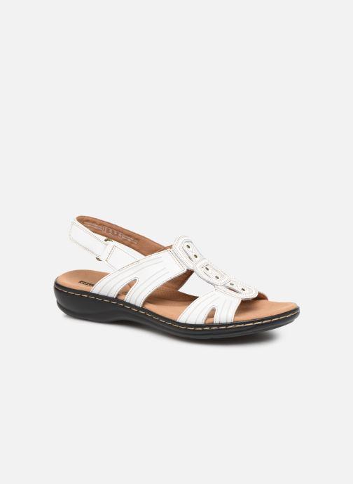 Sandales et nu-pieds Clarks Leisa Vine Blanc vue détail/paire