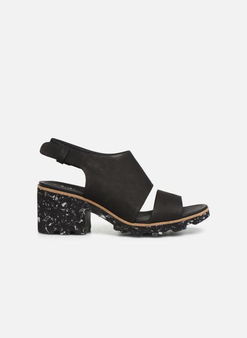 Sandales et nu-pieds Clarks Rene Sienna Noir vue derrière