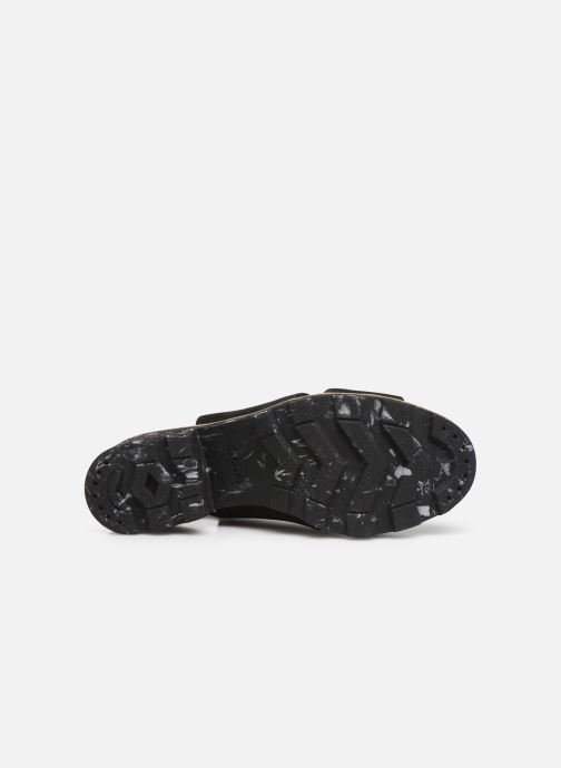 Sandales et nu-pieds Clarks Rene Sienna Noir vue haut
