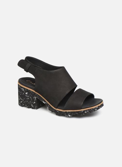 Sandaler Clarks Rene Sienna Sort detaljeret billede af skoene