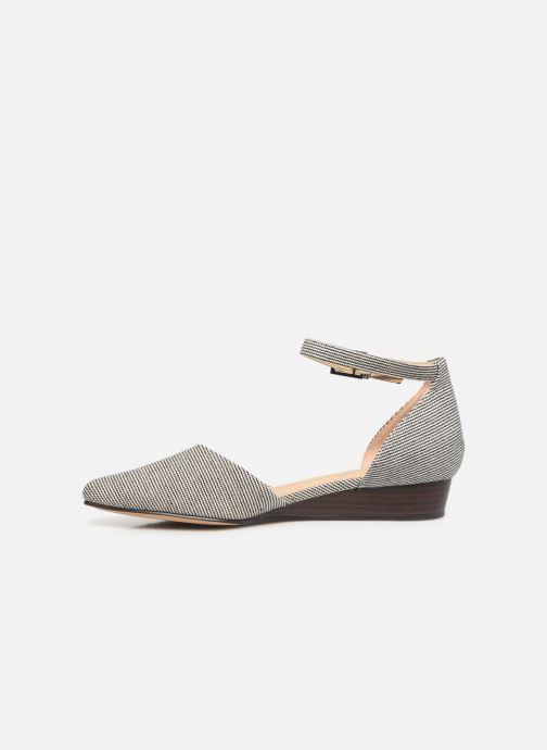 Sandales et nu-pieds Clarks Sense Eva Bleu vue face