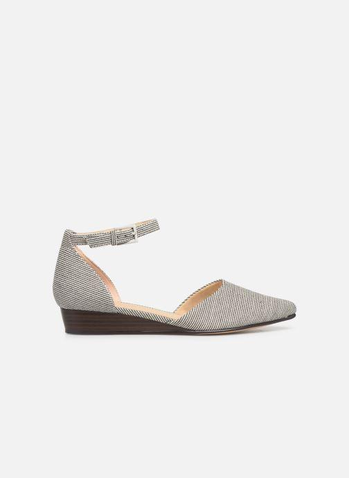 Sandales et nu-pieds Clarks Sense Eva Bleu vue derrière