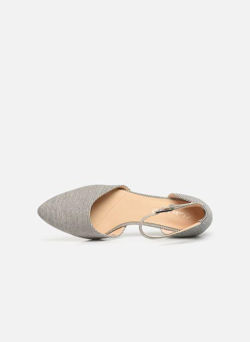 Sandales et nu-pieds Clarks Sense Eva Bleu vue gauche