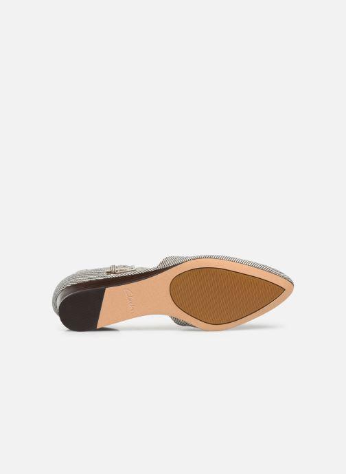 Sandales et nu-pieds Clarks Sense Eva Bleu vue haut