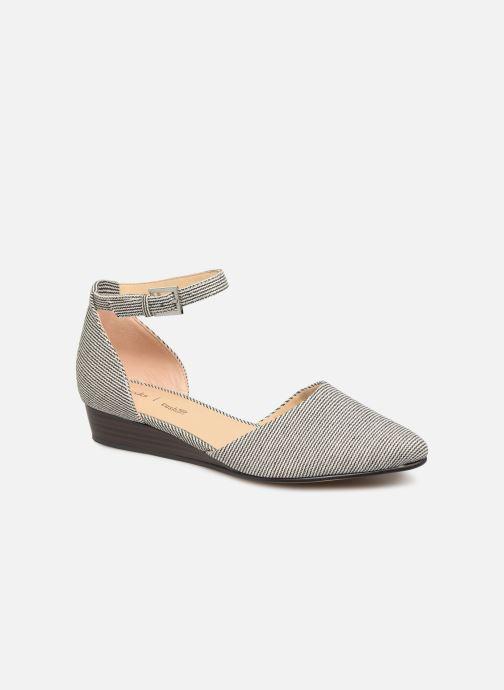 Sandaler Clarks Sense Eva Blå detaljeret billede af skoene