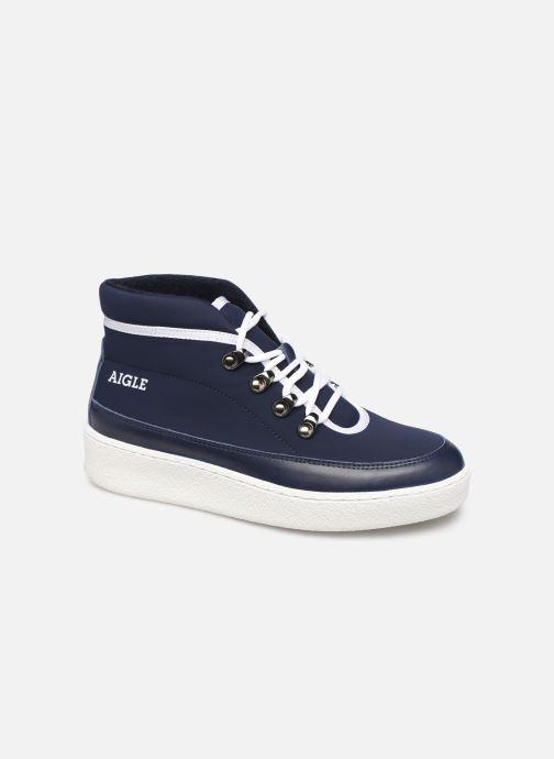 Baskets Aigle Skilon Mid W Bleu vue détail/paire