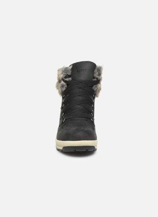Bottines et boots Aigle Tenere Light W Retro GTX Noir vue portées chaussures