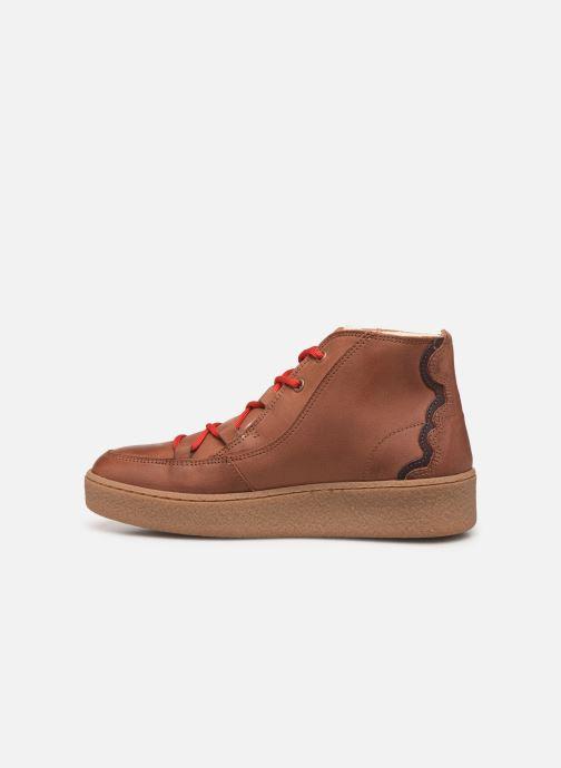 Chaussures de sport Aigle Ormea Mid W Marron vue face