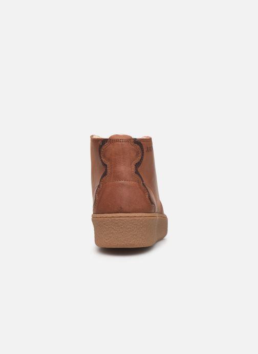 Chaussures de sport Aigle Ormea Mid W Marron vue droite